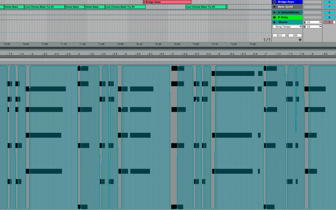 MIDI editing and producing