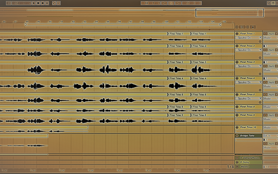"Vocal Comping: Producing ""Lost in the Wind,"" Day 8"
